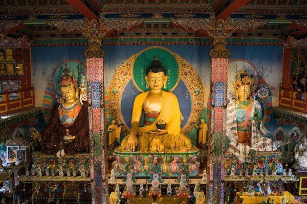 Le temple – vue de l'intérieur